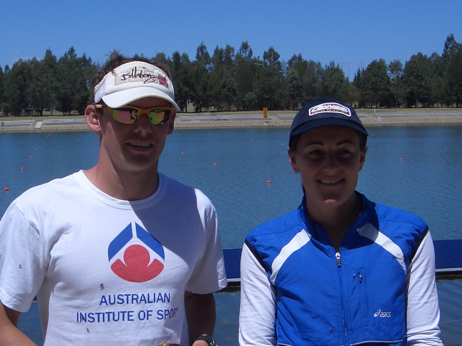 2004 Nepean Triathlon Winners Nick Hornman And Angie Sharp
