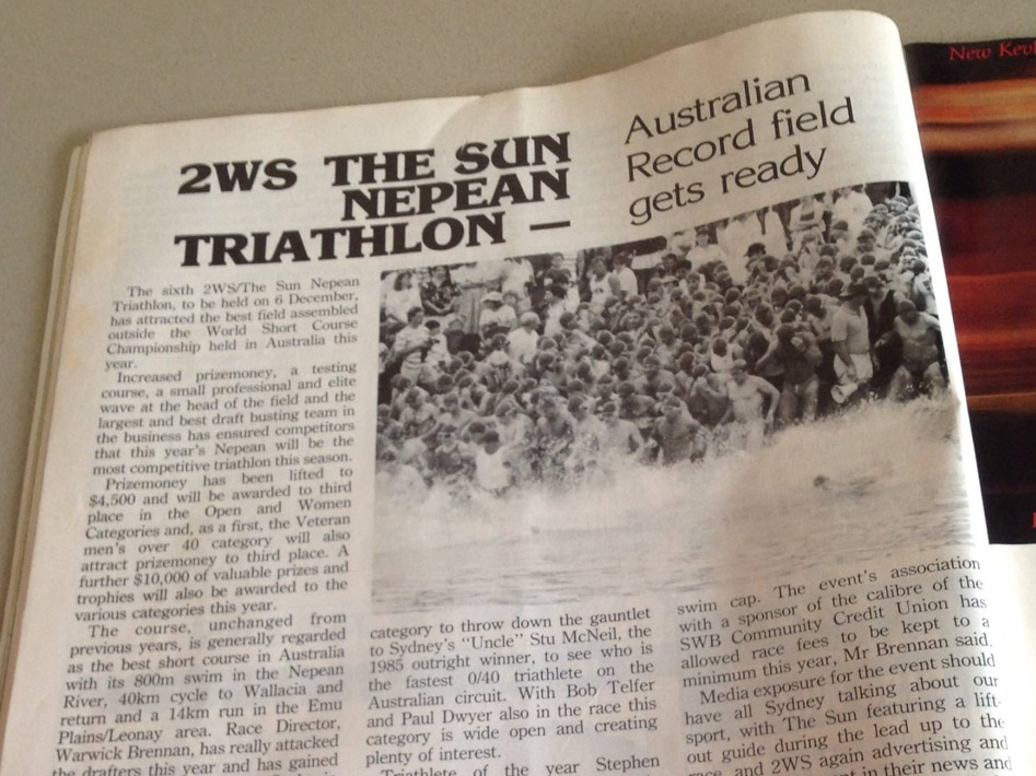 1987 Nepean Triathlon Article