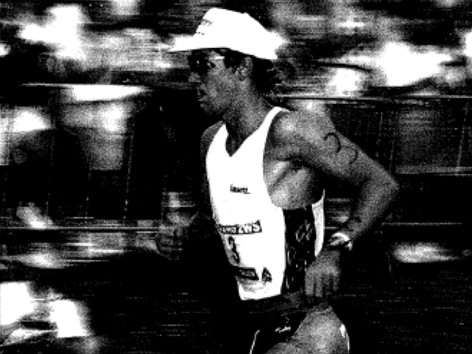 1990 Nepean Triathlon Winner Brad Beven