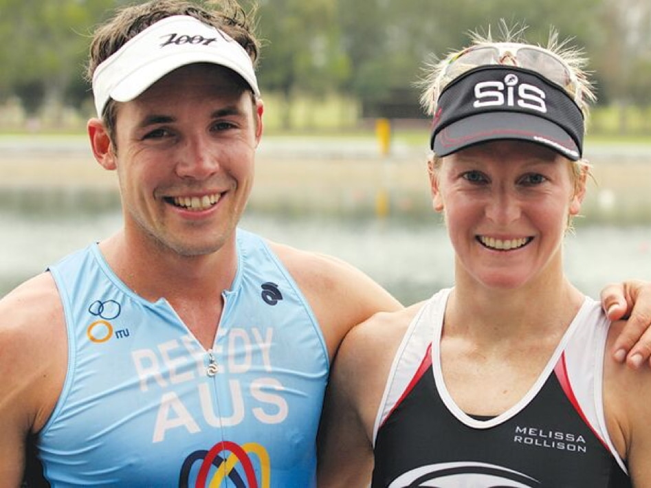 2011 Nepean Triathlon Winners Tim Reed And Melissa Rollison