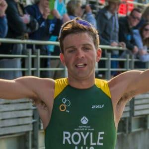 aaron royle nepean triathlon 2013