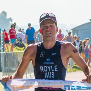 aaron royle nepean triathlon 2014