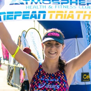 ashleigh gentle nepean triathlon 2014