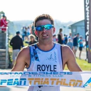 aaron royle nepean triathlon 2015