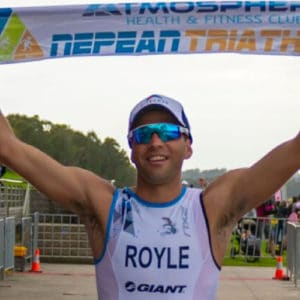 aaron royle nepean triayhlon 2018