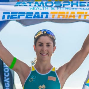 ashleigh gentle nepean triathlon 2016